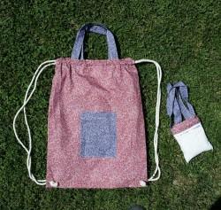 Katlanan sırt çantası