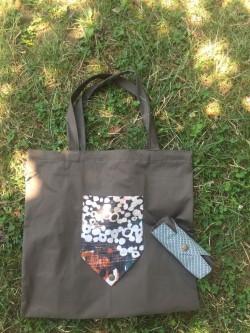 Katlanan alışveriş çantası - Renkli
