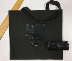 Katlanan Alışveriş Çantası - Renkli Bez Çanta