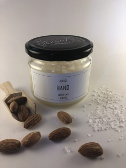by violet hand scrub 300ml