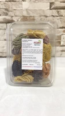 Karışık Sebzeli Spagetti