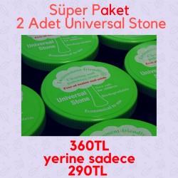 SÜPER İKİLİ PAKET (Universal Stone 500gr 2 adet)