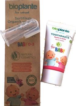 BioPlante Bebek Diş Macunu - Organik Muz ve vanilya - 50 ml