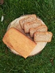 Siyez Unlu Ekşi Mayalı Ekmek 1000 gr(sipariş üzerine)