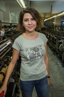 Su Yeşili Gezi- Patronsuz Tişört (Kadın)