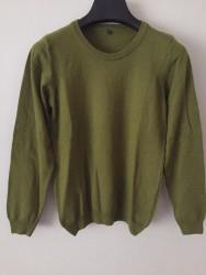 %100 Lemswool Yün Kadın Model Yeşil
