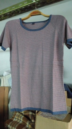 Tunik Model (indigo-pembe)