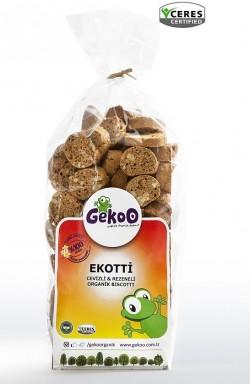 Ekotti Cevizli Rezeneli Organik Biscotti 150g