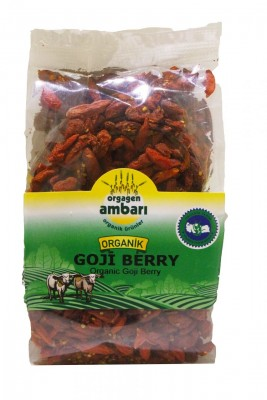 Orgagen Ambarı Organik Goji Berry 150 Gr