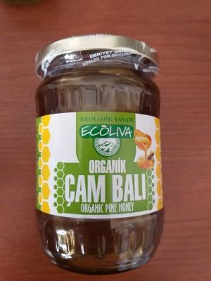 Ecoliva Organik Çam Balı 750 gr.