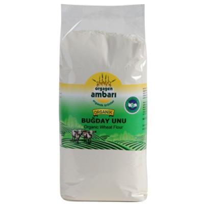 Orgagen Ambarı Organik Beyaz Buğday Unu 1 Kg