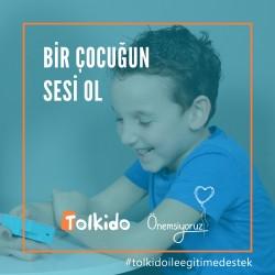 Tolkido ile Eğitime Destek Olun - 50 TL