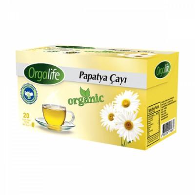 Orgalife Organik Bardak Poşet Papatya Çayı 20x2 Gr