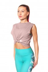 Yogazero Love Tank Top-Lila