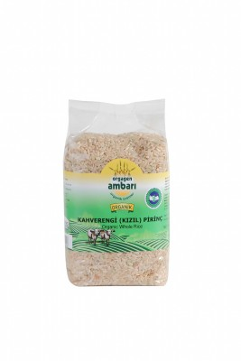 Orgagen Ambarı Organik Kahverengi Pirinç 1 KG