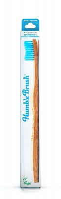 Humble Brush Yetişkin Diş Fırçası Mavi (Bir al, bir bağışla)