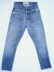 0029 High Rise Cropped Leg Remade Jean Regular Price