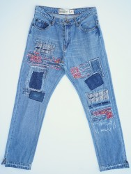 0027 High Rise Slim Fit Remade Jean