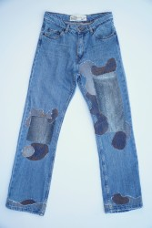 0021 Regular Fit - Boot Cut Remade Jean