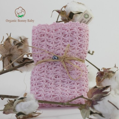 Organic Bonny Baby Pembe Banyo Lif