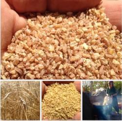 Bulgur-taş Değirmen (yerel Sarı Buğday Bulguru) 1 Kg