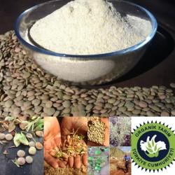 Organik Yeşil Mercimek Unu (yerli tohum-taş değirmen) 1 kg