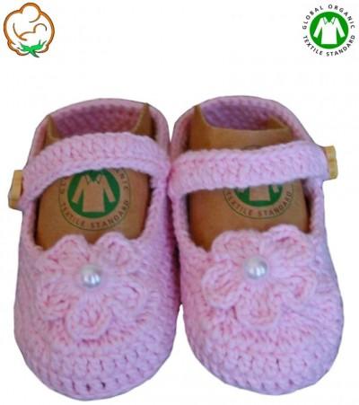 ORGANİC BONNY BABY BABET PATİK