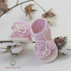 Organic Bonny Baby Kız Sandalet Patik
