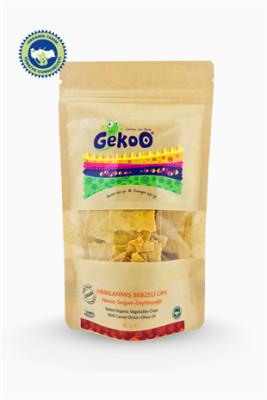 Gekoo Org. Sebzeli Fırınlanmış Cips Havuç-Soğan-Zeytinyağ