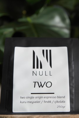 Two, Two Single Origin Espresso Blend
