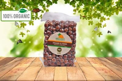 Organik Naturel Fındık - 250 Gr