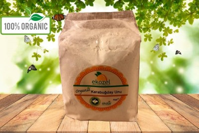 Organik Karabuğday Unu - 500 Gr