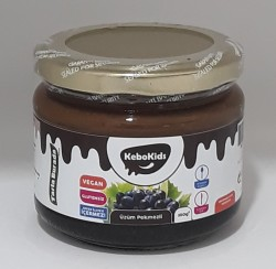 Kebokıds Krem Üzüm Pekmezi 350 Gr (tahinli)