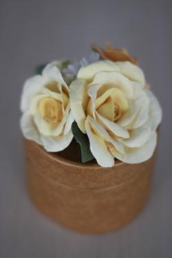 Çiçekli Hediye Kutusu