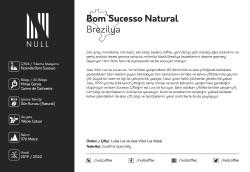 Brazil, Bom Sucesso Espresso Roast