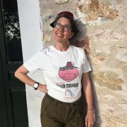 Yaşasın Tohumlar Osmanlı Çileği Tişört %100 Pamuk