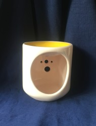 Seramik Buhurdanlık-Sarı