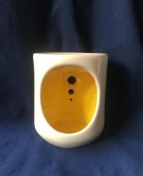 Seramik Buhurdanlık-İçi Sarı