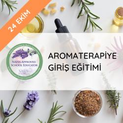 Herbafarm Akademi - Aromaterapiye Giriş Eğitimi