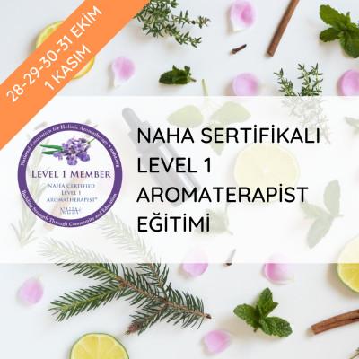 Herbafarm - Naha Sertifikalı Level 1 Aromaterapist Eğitimi