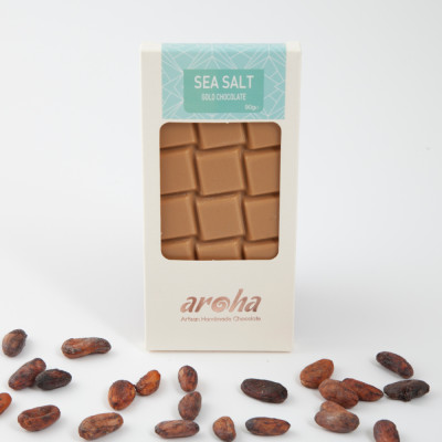 Aroha Gold Tuzlu Karamelli Çikolata 90Gr