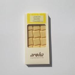 Aroha Limonlu Beyaz Çikolata - P Kakao 80Gr