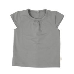 Sırtı Çıtçıtlı T-shirt