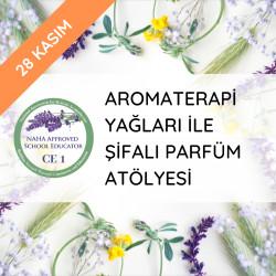 Aromaterapi Yağları İle Şifalı Parfüm Eğitimi