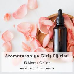 Aromaterapiye Giriş Eğitimi