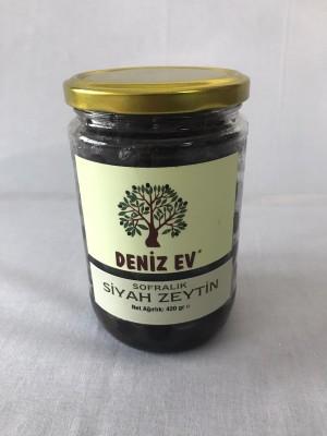 0,5 Kg Sofralık Siyah Zeytin