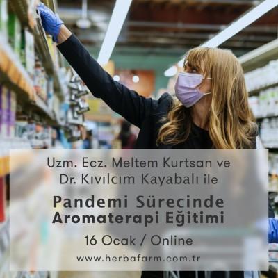 Pandemi Sürecinde Aromaterapi Eğitimi