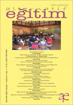 Alternatif Eğitim Dergisi - Eleştirel Eğitimde Yeni Momentler