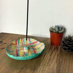 Papier Mache Renkli Tütsülük