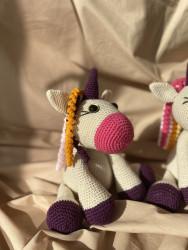 Amigurumi Unicorn Oyuncak